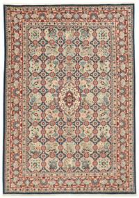 Varamin Rug 203X285 Authentic  Oriental Handknotted (Wool/Silk, Persia/Iran)