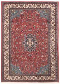 Sarouk Rug 203X290 Authentic  Oriental Handknotted Dark Red/Beige (Wool, Persia/Iran)