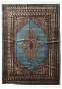 Pakistan Bokhara 3Ply Rug 207X284 Authentic  Oriental Handknotted Dark Grey/Black (Wool, Pakistan)