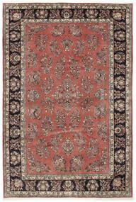 Sarouk Rug 205X309 Authentic  Oriental Handknotted Dark Red/Dark Brown (Wool, Persia/Iran)