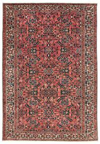 Bakhtiari Rug 220X311 Authentic  Oriental Handknotted Dark Red/Black (Wool, Persia/Iran)