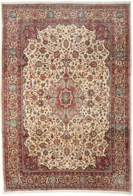 Sarouk Rug 256X370 Authentic  Oriental Handknotted Light Brown/Dark Grey Large (Wool, Persia/Iran)