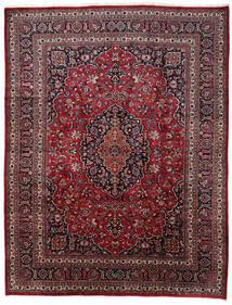 Mashad Rug 309X373 Authentic  Oriental Handknotted Dark Red/Dark Brown Large (Wool, Persia/Iran)