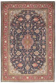 Sarouk Rug 223X329 Authentic  Oriental Handknotted Dark Grey/Beige (Wool, Persia/Iran)