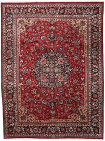 Mashad Rug 290X387 Authentic  Oriental Handknotted Dark Red/Dark Grey Large (Wool, Persia/Iran)