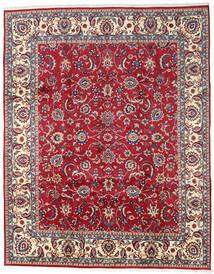 Mashad Rug 300X380 Authentic  Oriental Handknotted Dark Red/Beige Large (Wool, Persia/Iran)