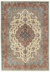 Sarouk Rug 202X295 Authentic  Oriental Handknotted Light Brown/Dark Beige (Wool, Persia/Iran)