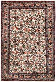 Bidjar Rug 200X302 Authentic  Oriental Handknotted Dark Red/Dark Brown (Wool, Persia/Iran)