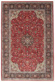 Sarouk Rug 210X312 Authentic  Oriental Handknotted Dark Red/Dark Brown (Wool, Persia/Iran)