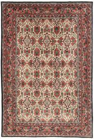 Bidjar Rug 218X317 Authentic Oriental Handknotted Dark Brown/Dark Red (Wool, Persia/Iran)