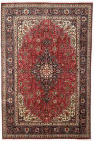 Tabriz Rug 197X300 Authentic  Oriental Handknotted Dark Brown/Light Brown (Wool, Persia/Iran)