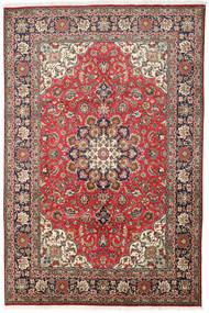 Tabriz Rug 200X303 Authentic  Oriental Handknotted Dark Brown/Brown (Wool, Persia/Iran)