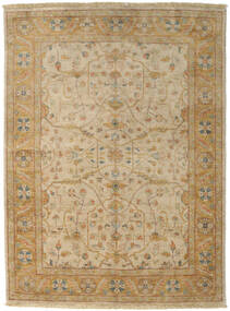 Ziegler Rug 167X223 Authentic  Oriental Handknotted Light Brown/Dark Beige (Wool, Pakistan)