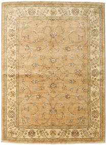 Ziegler Rug 167X227 Authentic  Oriental Handknotted Dark Beige/Light Brown (Wool, Pakistan)