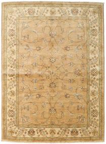 Ziegler Rug 167X227 Authentic  Oriental Handknotted Dark Beige/Light Brown (Wool, Pakistan)