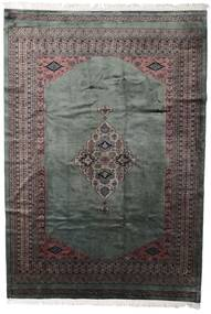 Pakistan Bokhara 3Ply Rug 203X295 Authentic  Oriental Handknotted Dark Grey/Black (Wool, Pakistan)