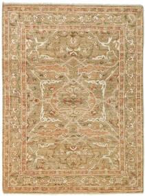 Ziegler Rug 168X225 Authentic  Oriental Handknotted Light Brown/Dark Beige (Wool, Pakistan)
