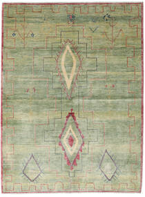 Ziegler Modern Rug 175X235 Authentic  Modern Handknotted Light Green/Dark Beige (Wool, Pakistan)