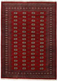 Pakistan Bokhara 2Ply Rug 217X300 Authentic  Oriental Handknotted Crimson Red/Dark Red/Dark Brown (Wool, Pakistan)