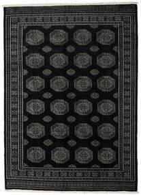 Pakistan Bokhara 3Ply Rug 214X296 Authentic  Oriental Handknotted Black/Dark Grey (Wool, Pakistan)
