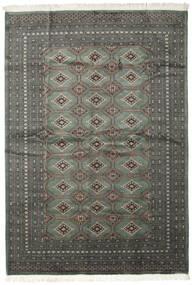 Pakistan Bokhara 2Ply Rug 206X293 Authentic  Oriental Handknotted Dark Grey/Black (Wool, Pakistan)