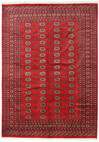 Pakistan Bokhara 2Ply Rug 215X302 Authentic  Oriental Handknotted Crimson Red/Dark Red (Wool, Pakistan)