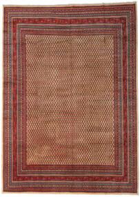 Sarouk Mir Rug 289X399 Authentic  Oriental Handknotted Dark Brown/Dark Red Large (Wool, Persia/Iran)