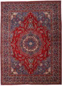 Mashad Rug 290X395 Authentic  Oriental Handknotted Dark Red/Crimson Red Large (Wool, Persia/Iran)