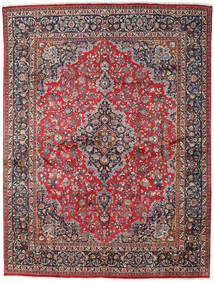 Mashad Rug 299X386 Authentic  Oriental Handknotted Dark Red/Dark Grey Large (Wool, Persia/Iran)