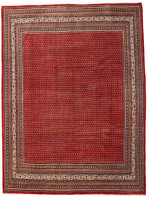 Sarouk Mir Rug 273X363 Authentic  Oriental Handknotted Dark Red/Rust Red Large (Wool, Persia/Iran)