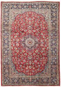 Keshan Rug 230X327 Authentic  Oriental Handknotted Dark Red/Beige (Wool, Persia/Iran)