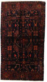 Lori Rug 130X234 Authentic  Oriental Handknotted Dark Brown/Dark Red (Wool, Persia/Iran)