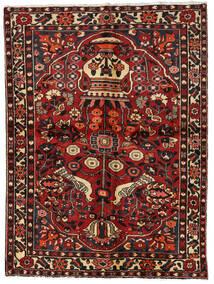Bakhtiari Rug 156X209 Authentic  Oriental Handknotted Dark Red/Dark Brown (Wool, Persia/Iran)
