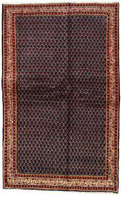 Sarouk Mir Rug 128X203 Authentic  Oriental Handknotted Dark Grey/Dark Red (Wool, Persia/Iran)