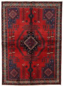 Afshar Rug 158X221 Authentic  Oriental Handknotted Dark Red/Dark Brown (Wool, Persia/Iran)