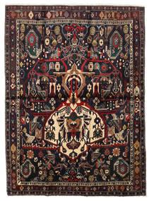 Afshar Shahre Babak Rug 136X185 Authentic Oriental Handknotted Dark Red/Light Brown (Wool, Persia/Iran)