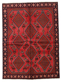 Afshar Rug 149X204 Authentic  Oriental Handknotted Dark Red/Rust Red (Wool, Persia/Iran)