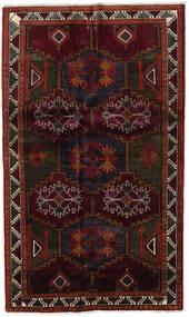 Lori Rug 142X240 Authentic  Oriental Handknotted Dark Red/Dark Brown (Wool, Persia/Iran)
