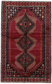 Lori Rug 150X244 Authentic  Oriental Handknotted Dark Red (Wool, Persia/Iran)