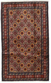Baluch Rug 98X164 Authentic  Oriental Handknotted Dark Red/Brown (Wool, Persia/Iran)