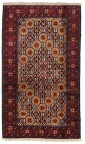 Baluch Rug 100X170 Authentic  Oriental Handknotted Dark Red/Dark Brown (Wool, Persia/Iran)