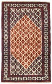 Baluch Rug 101X165 Authentic  Oriental Handknotted Dark Brown/Dark Red (Wool, Persia/Iran)