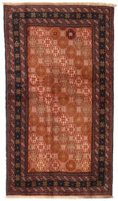 Baluch Rug 100X172 Authentic  Oriental Handknotted Crimson Red/Black (Wool, Persia/Iran)