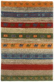 Gabbeh Persia Rug 120X178 Authentic  Modern Handwoven Dark Brown/Brown (Wool, Persia/Iran)