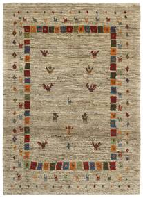 Gabbeh Persia Rug 121X170 Authentic  Modern Handknotted Olive Green/Light Brown (Wool, Persia/Iran)