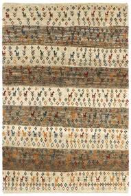 Gabbeh Persia Rug 120X179 Authentic Modern Handknotted Light Brown/Dark Beige (Wool, Persia/Iran)