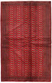 Turkaman Rug 134X209 Authentic  Oriental Handknotted Dark Red/Crimson Red (Wool, Persia/Iran)
