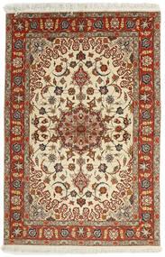 Tabriz 50 Raj Rug 102X153 Authentic  Oriental Handwoven Dark Red/Light Brown (Wool/Silk, Persia/Iran)