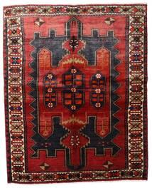 Lori Rug 157X198 Authentic Oriental Handknotted Dark Red/Dark Brown (Wool, Persia/Iran)