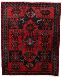 Lori Rug 165X205 Authentic Oriental Handknotted Dark Red/Crimson Red (Wool, Persia/Iran)